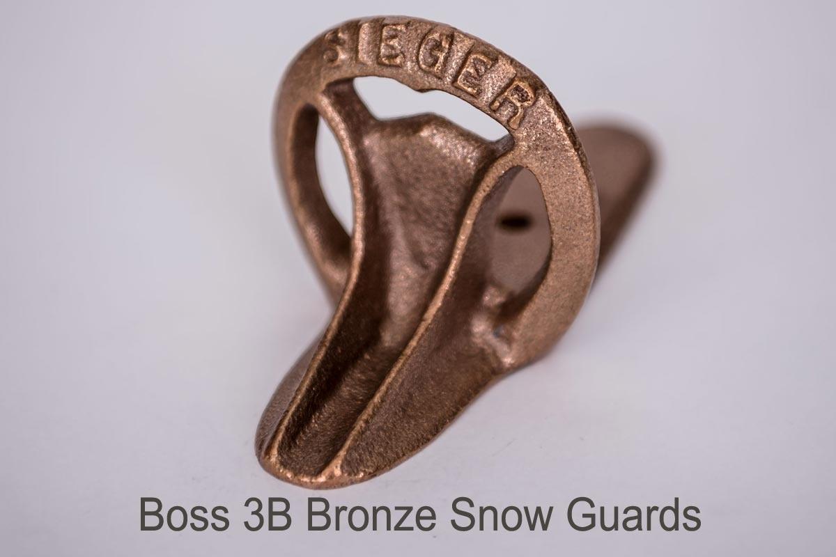 Boss 3A & Boss 3B Snow Guards-bronze