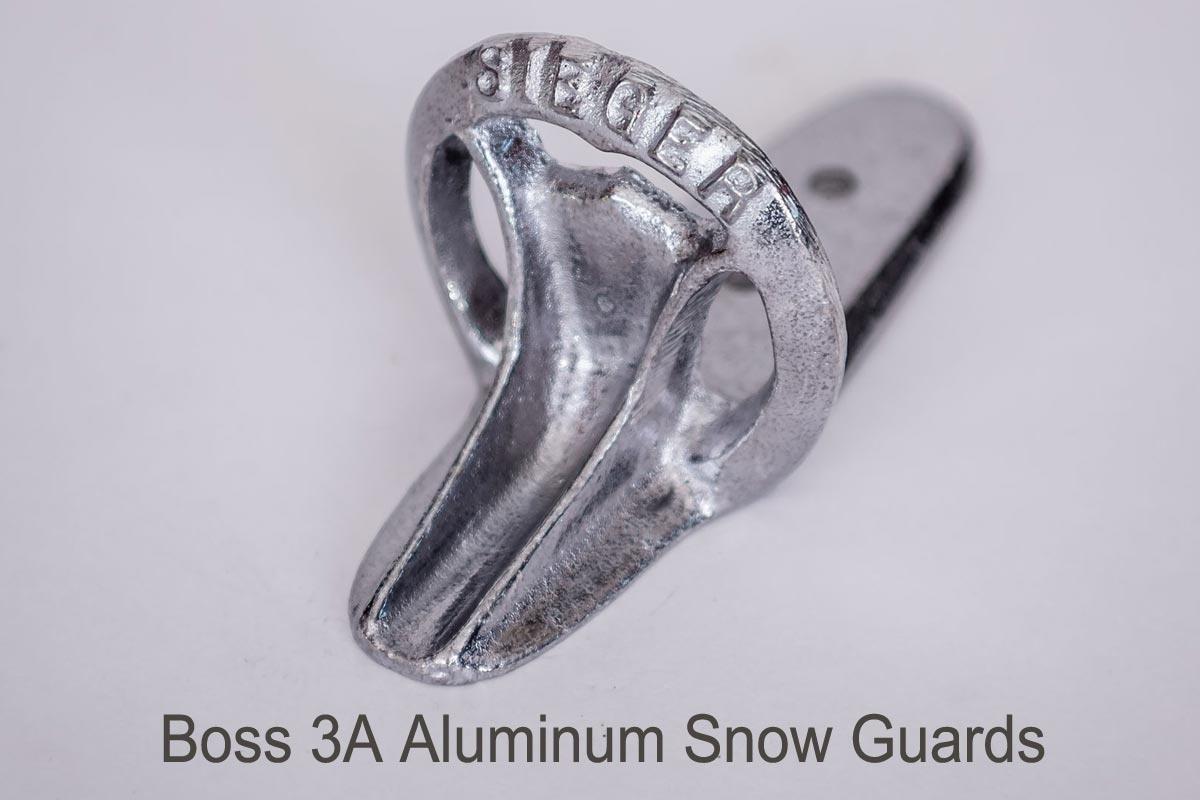 Boss 3A & Boss 3B Snow Guards aluminum