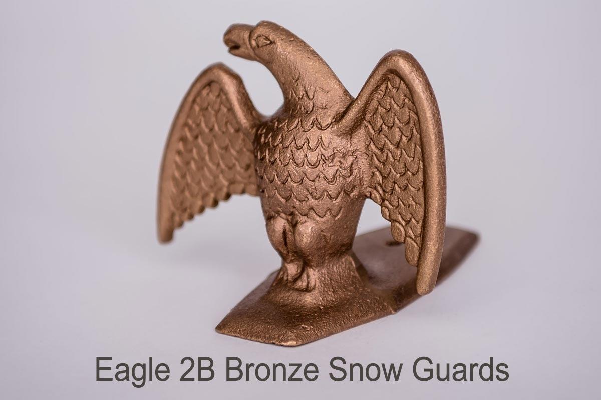 Eagle 2A and Eagle 2B Snow Guards bronze