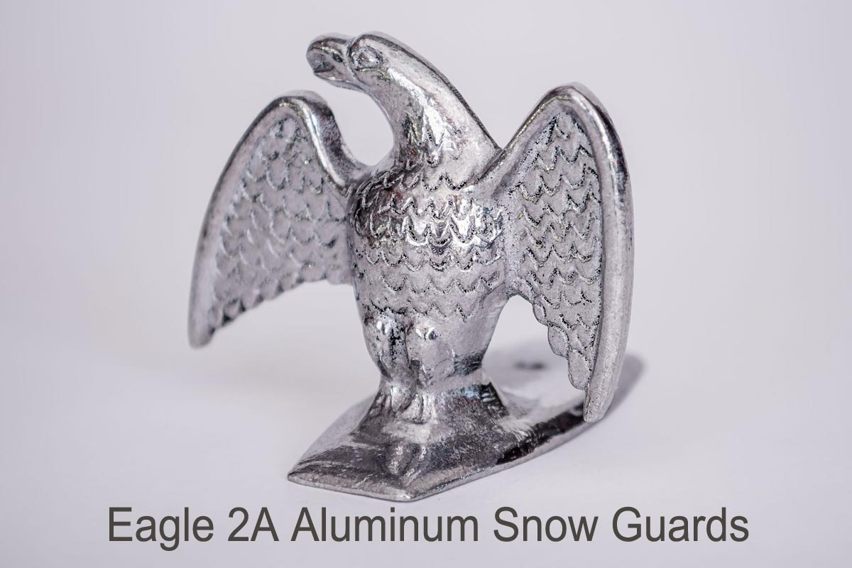 Eagle 2A and Eagle 2B Snow Guards silver