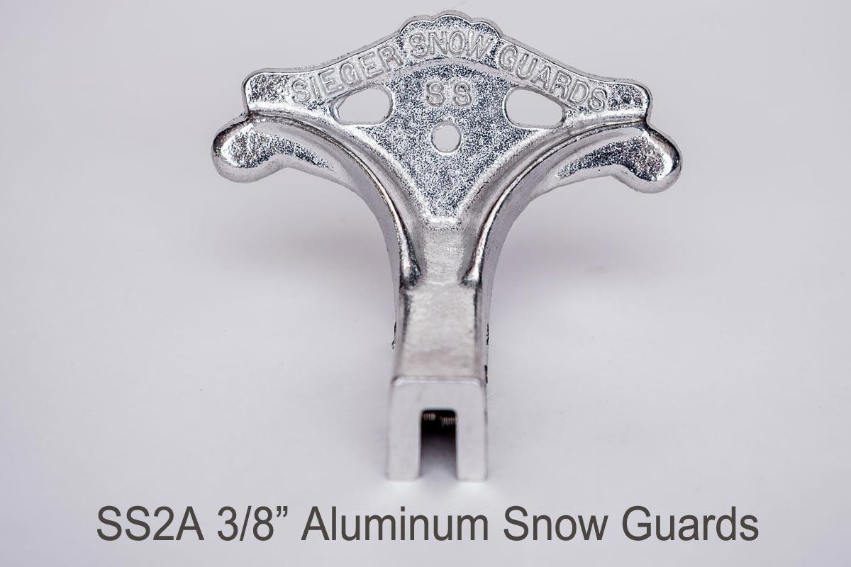 SS2 Standing Seam Set Screw Snow Guard 3:8