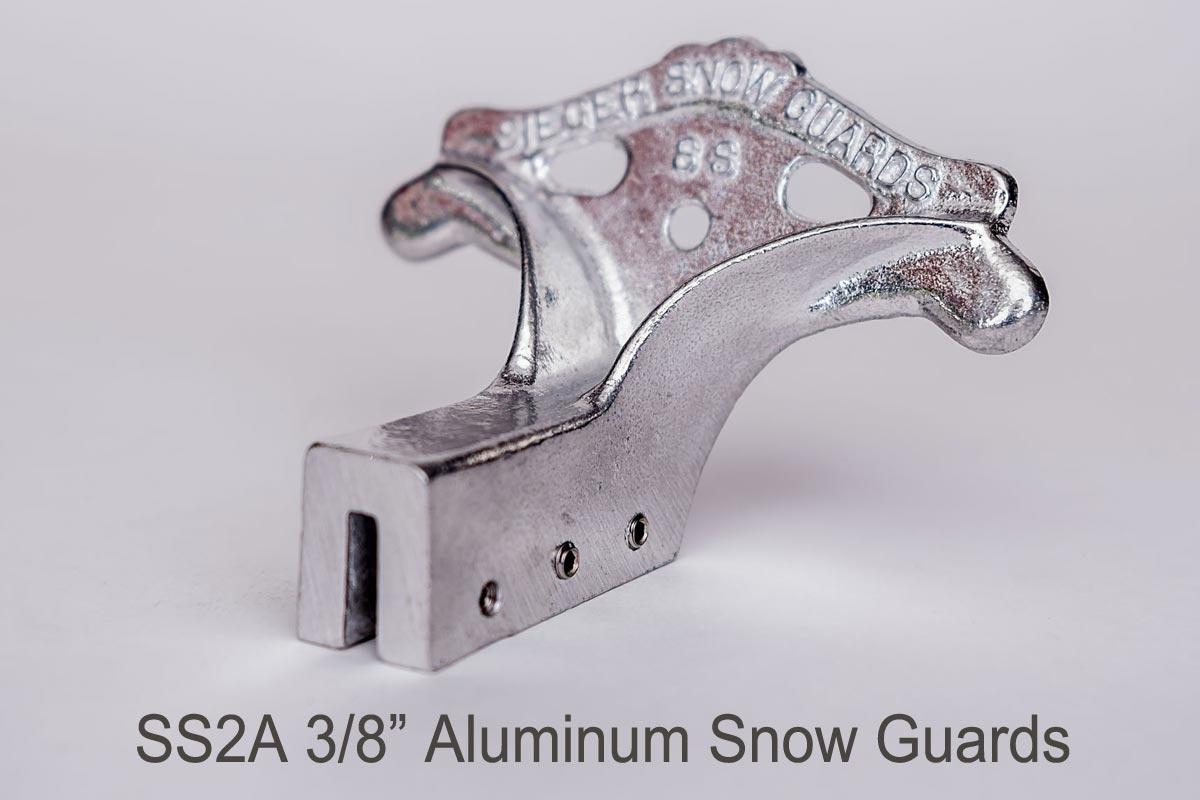 SS2 Standing Seam Set Screw Snow Guard side